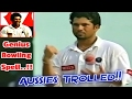 Sachin Fails with the Bat vs Australia, but Wins the Match with his CLEVER and GENIUS Bowling Skills
