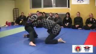 Examen rojo Hapkido Moo Hak Kwan en Alicante ( Red belt test)