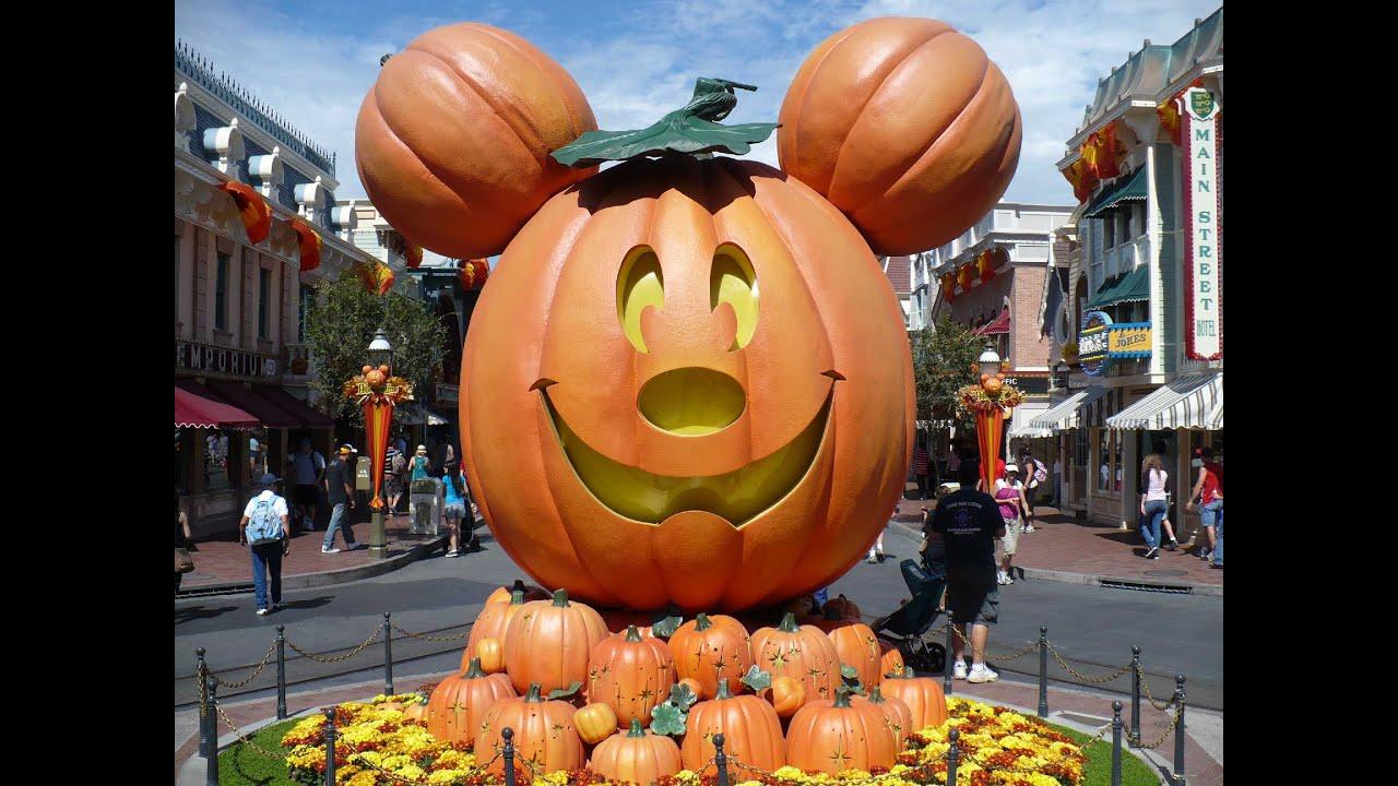 disneyland halloween time decorations part 2 - When Does Disneyland Decorate For Halloween