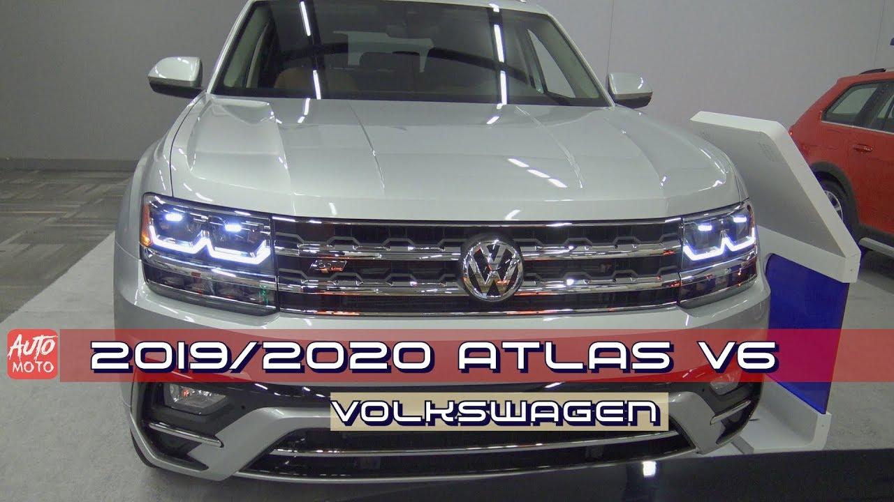 volkswagen atlas  exterior  interior  ottawa auto show youtube