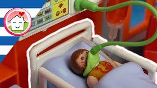 Playmobil ταινία Η Άννα είναι νοσοκομείο λόγω αλλεργίας - Οικογένεια Οικονόμου