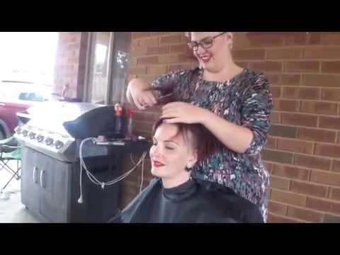 Phrase The fetish girl head shaving