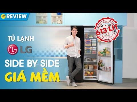 Tủ lạnh LG: dung tích khủng, giá rẻ, dễ dùng, tiết kiệm điện (GR-B247WB) • Điện máy XANH