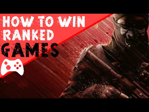 Guide On Winning Ranked Games | Rainbow Six Siege Tips And Tricks!