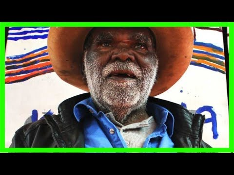 Aboriginal artist uses australia post mailbags to push land rights message