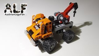 Lego Technic 9390 Mini Tow Truck / Mini Abschlepptruck - Lego Speed Build Review