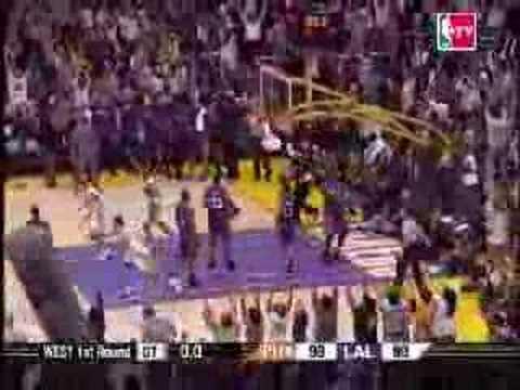 Kobe Bryant Buzzer Beater Game 4 Lakers vs Suns 2006 NBA