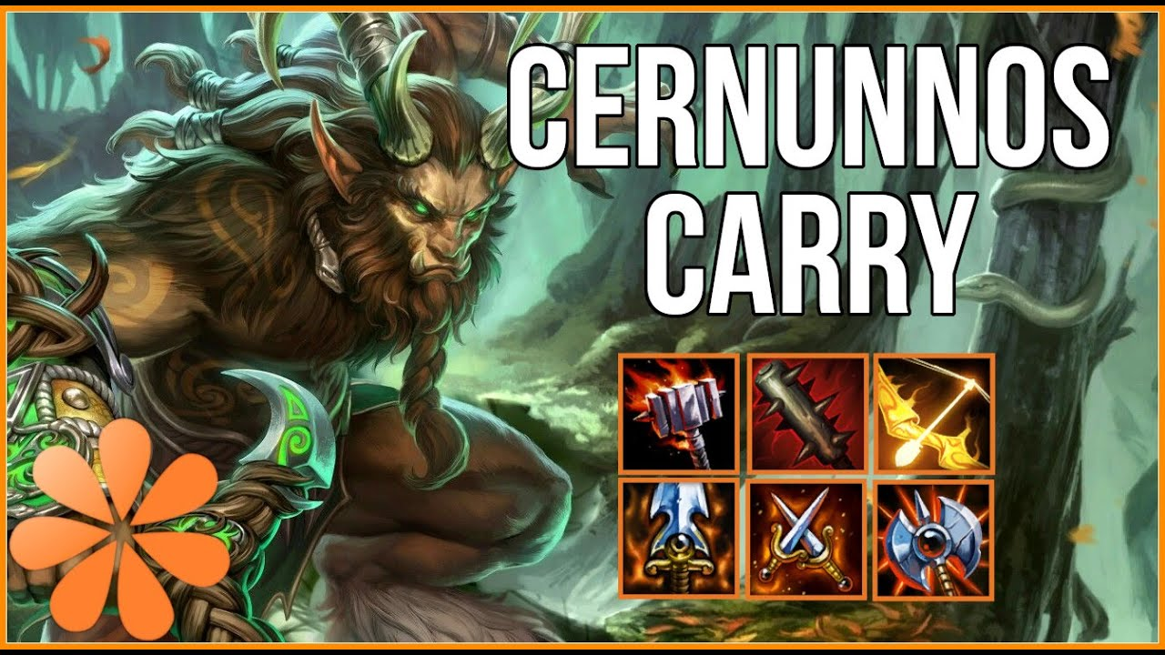Cernunnos The Carry God Smite Duo Lane Youtube