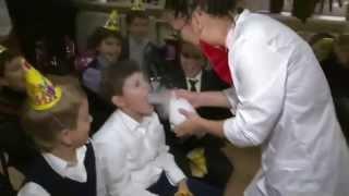 Научное шоу для детей на детский праздник день рождения Москва