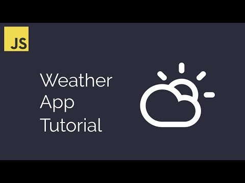 Build A Weather App With Vanilla Javascript Tutorial | Javascript For Beginners