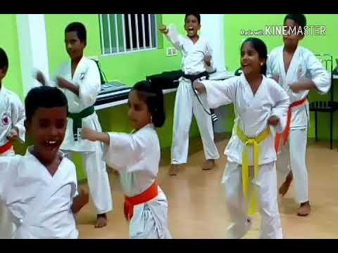 DB JOHN karate students