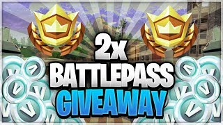 2x BATTLEPASS GIVEAWAY SEASON 9! // FORTNITE BATTLE ROYALE NEDERLANDS