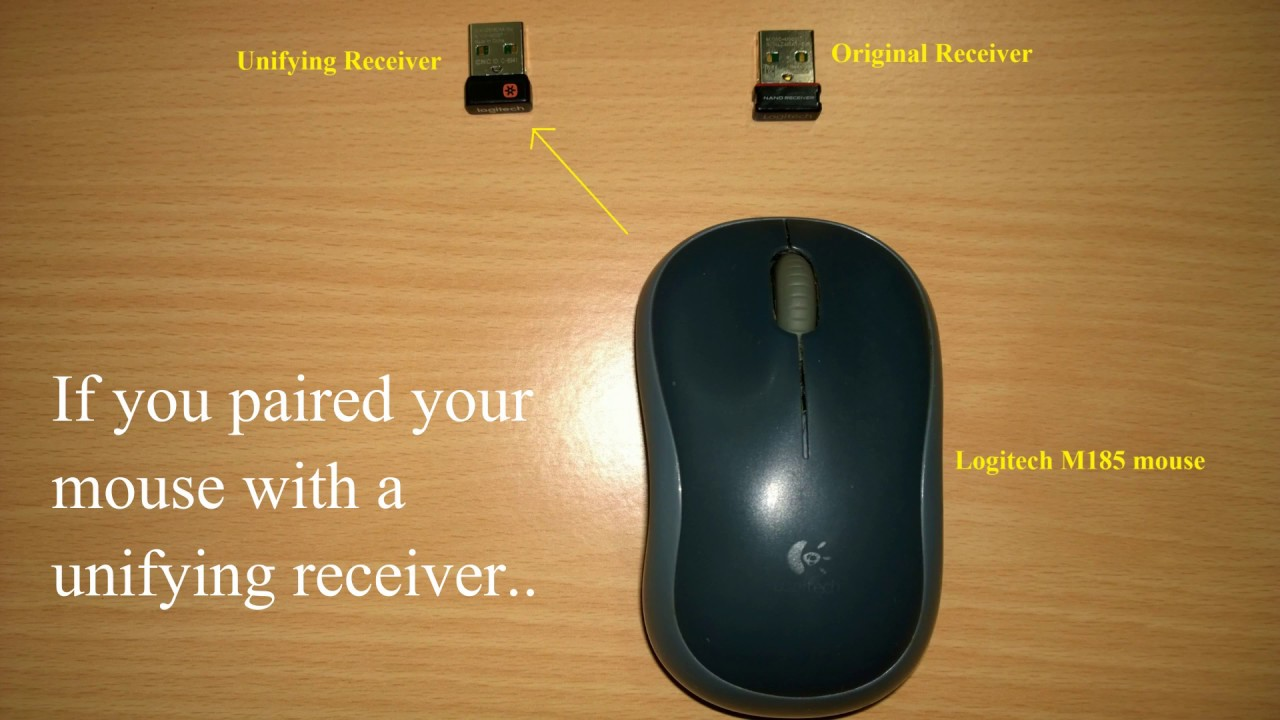 Pairing Logitech Mouse with Original Non-Unifying Receiver