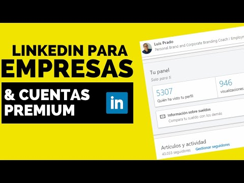 COMO usar LINKEDIN para EMPRESAS (SALES NAVIGATOR en ESPAÑOL tutorial)