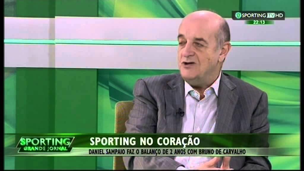 Daniel Sampaio faz o balanço de 2 anos de mandato de Bruno de Carvalho a 26/03/2015