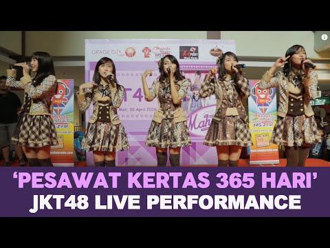 JKT48 - Pesawat Kertas 365 Hari Live Cirebon
