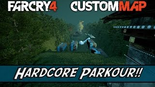 Far Cry 4 Custom Map #017 - Hardcore Parkour!! By Jecker.