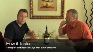 A Perfect Pair King Crab And Chardonnay