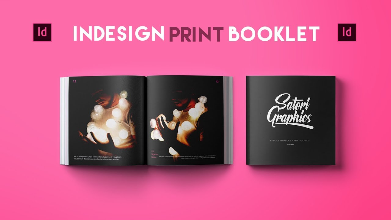 Adobe Indesign Tutorial Booklet Layout For Print Satori Graphics