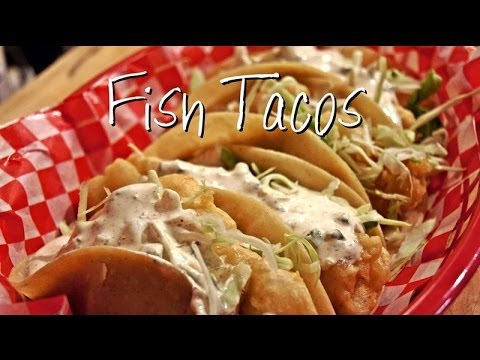 How to make fish tacos youtube for Making fish tacos