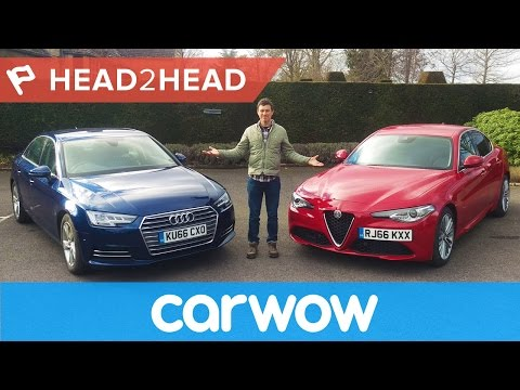 Alfa Giulia vs Audi A4 - can Italy beat Germany