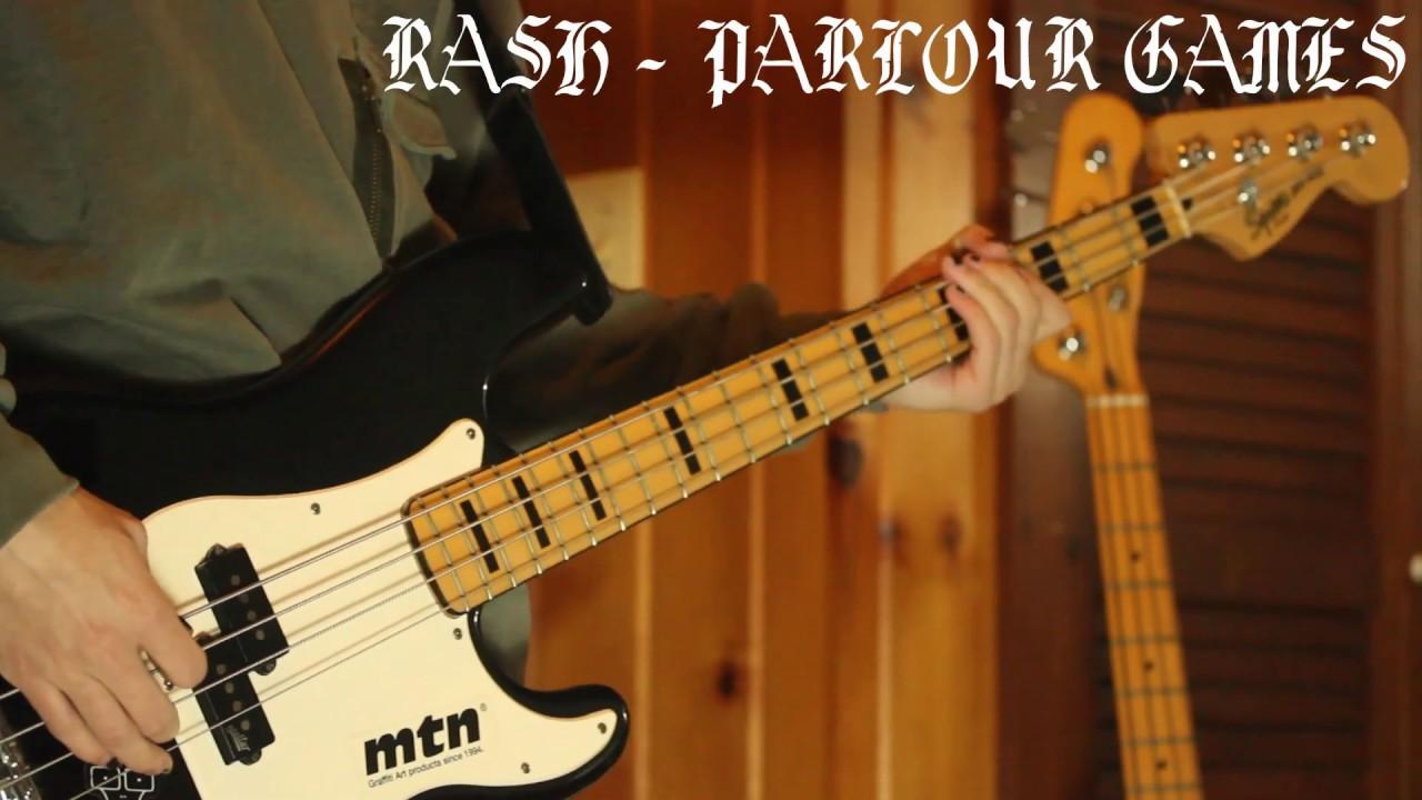 Rash - Parlour Games (Bass Cover)