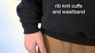 J154 Carhartt Men's Thermal-Lined Crewneck Sweatshirt