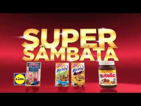 Super Sambata la Lidl • 14 Noiembrie 2015