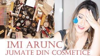 Fac curat la make-up | Arunc jumatate din cosmetice!