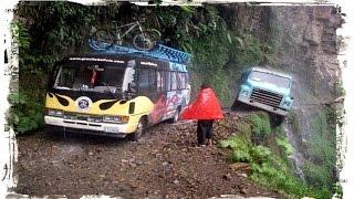 Южная Америка  «Дорога смерти»  в Боливии(Самая опасная дорога в мире ! Смотрите наш канал, подписывайтесь., 2016-04-06T12:33:55.000Z)