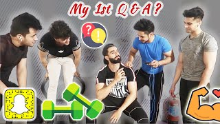 Q A VIDEO IN GYM Relationship Job Crush And More MR MNV