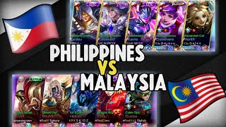 Philippines pinagtripan ang Malaysia - National Arena Contest - Mobile Legends