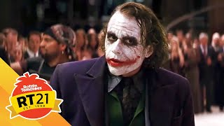 Heath Ledger's Joker from 'The Dark Knight' | Rotten Tomatoes' 21 Most Memorable Moments