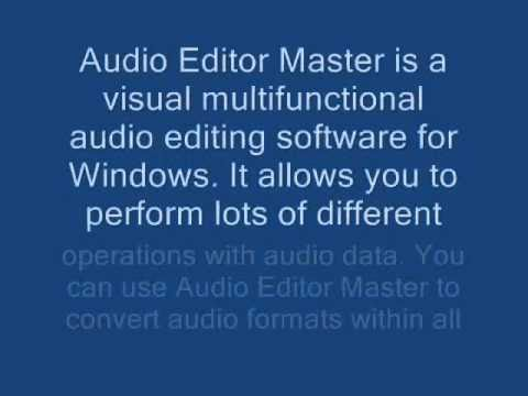 Audio Editor Master 5.4.1.198 for free