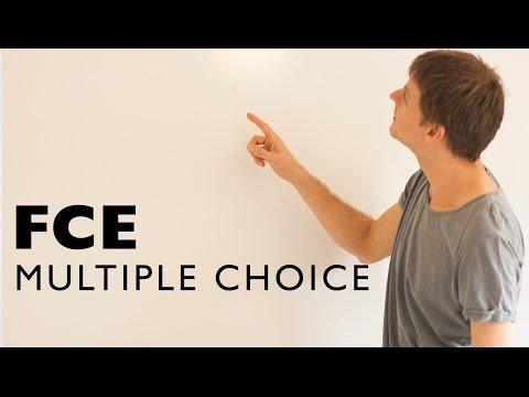 FCE MULTIPLE CHOICE