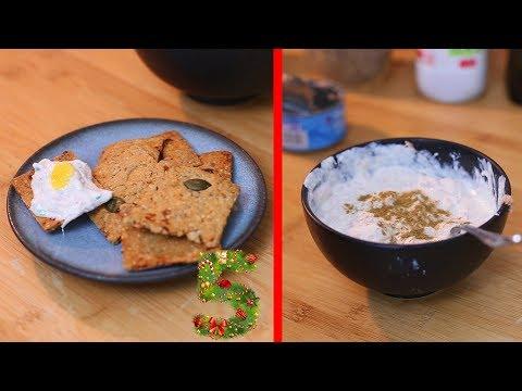 5/24 : Défi de l'Avent - Crackers aux graines et tartinable fromage maison