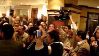 Wedding in our hotel - Amman Dead Sea Ultra 2011