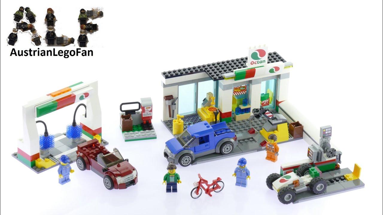 Lego City 60132 Service Station Alternate Model - Lego Speed Build Review