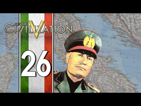 Russia vs. Italy, Round 1 - Civilization V Multiplayer: World War Chaos - Italy - Part 26