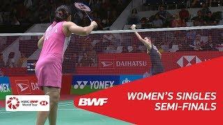 WS | Ratchanok INTANON (THA) [4] vs Saina NEHWAL (IND) | BWF 2018
