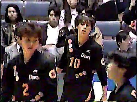 第25回 日本リーグ女子 日立×ダイエー 1992年