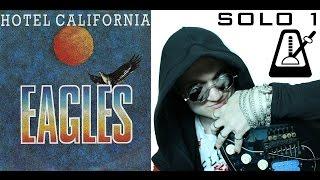 Как Играть Соло - Hotel California - Lesson - Solo1 - Pt II (РИТМ) - Урок