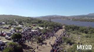 Rally Argentina 2015 - WRC Hyundai Hayden Paddon crash - Drone