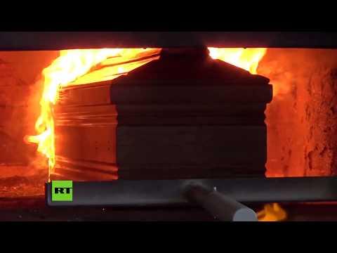 Crematorio italiano, sobrepasado por el coronavirus