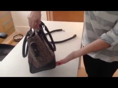 Bolsa Calvin Klein original cinza com metais - YouTube eb7439b4b97