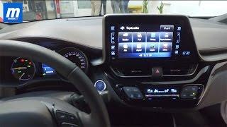 Interior Toyota C-HR 2017