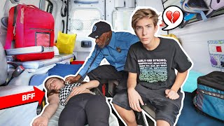 Something TERRIBLE Happened To My BEST FRIEND **CHALLENGE GONE WRONG** 🚑🤕 | Sawyer Sharbino