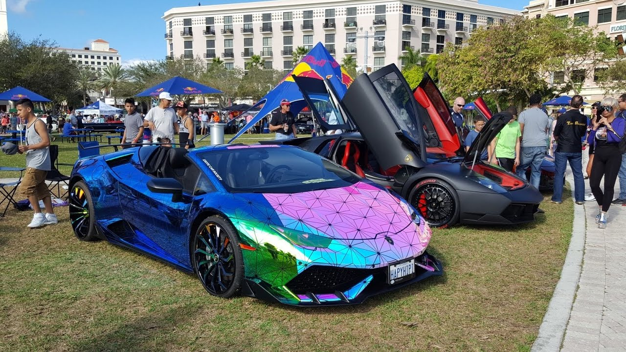 World S Best Supercars At Supercar Week The Art Technology