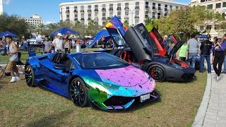 World's best supercars at SUPERCAR WEEK 2017 THE ART & TECHNOLOGY OF SPEED & DESIGN