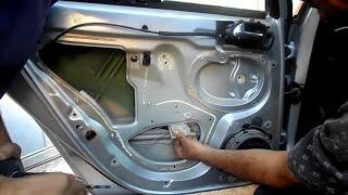Comment réparer lève vitre ! mecanique mokhtar tunisie  طريقة اصلاح مكينة زجاج
